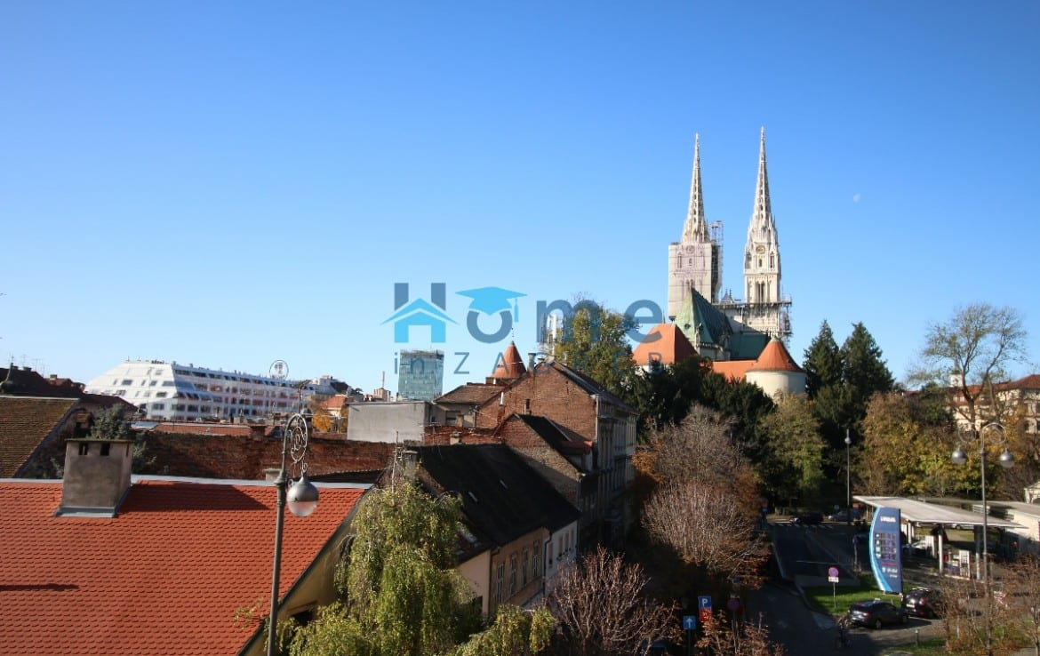 Zagreb Cathedral View from apartment